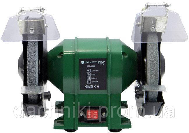 Точильний верстат Craft-Tec PXBG-206, 200мм