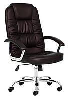 Крісло офісне NEO9947 темно коричневе, фото 1