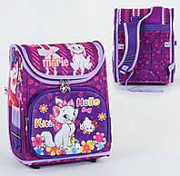 Каркасный рюкзак для школьников Hello Kitty & Marie с ортопедической спинкой