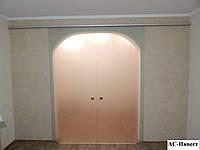 Розсувні міжкімнатні скляні двері