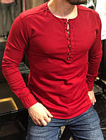 Мужская модная фирменная Рубашка красная