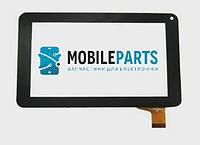 """Сенсор (Тачскрин) для планшета 7"""" Assistant AP-720 (тип 2) (189*112 мм,30 pin) (Черный) Оригинал Китай"""