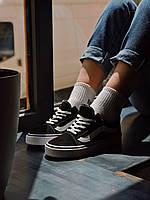 Кеды черно белые Vans Vans Old Skool  Black and white, фото 1