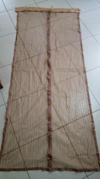 Антимоскитная сетка - штора  москитная сетка больших размеров
