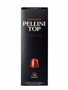 Кофе в капсулах Espresso Pellini Top, 10шт.
