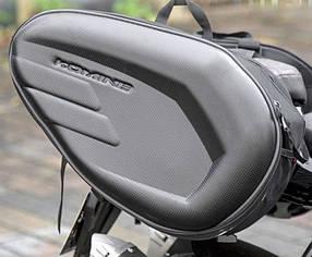 Боковые мото  кофры сумки для мотоцикла через сидение Komine Водостойкий материал
