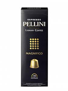 Кофе в капсулах Espresso Pellini Luxury Coffee Magnifico, 10шт.