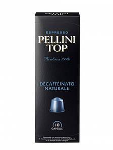 Кофе в капсулах Espresso Pellini Top Decaffeinato Naturale, 10шт.