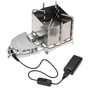 Туристическая дровяная печка с турбо наддувом Vital Airwood stove BRS-116 Печь-щепочница. Туристична щепочниця