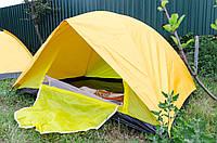 ⭐⭐⭐⭐⭐ Двухместная туристическая палатка полуавтомат, двухслойная 200см*150см*110см