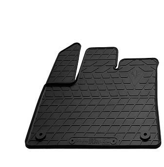 Водительский резиновый коврик для Citroen Berlingo 2018- с круглой клипсой (CP2) Stingray