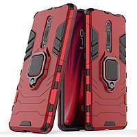 Чохол Iron Ring для Xiaomi Mi 9T / Redmi K20 броньований бампер Броня Red