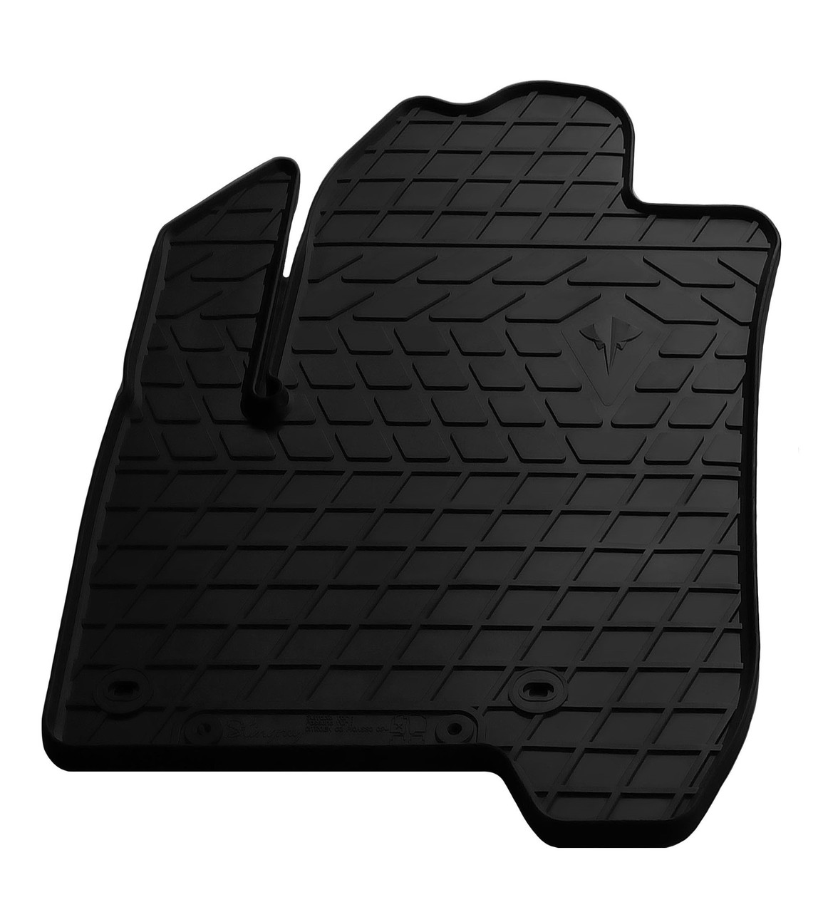 Водительский резиновый коврик для Citroen C3 Picasso 2009- Stingray