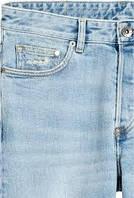 Джинс щільний (світло-блакитний)