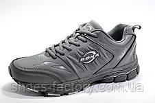 Мужские кроссовки Bona 2019, Gray\Серые (кожаные), фото 2