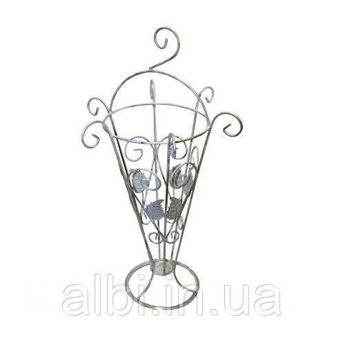 Корзина для сушки зонтов  №1 белая