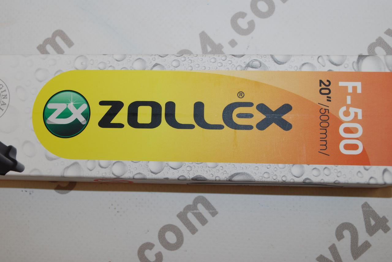 """Zollex F 500 Щетка бескаркасная Ultra Soft Line 20"""" (500мм)"""