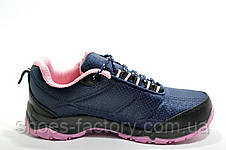 Женские кроссовки Columbia Firecamp, Dark blue\Pink, фото 3
