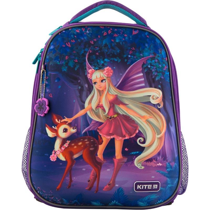 Рюкзак школьный каркасный Kite Education Wood fairy 20 л Фиолетовый K19-531M-2