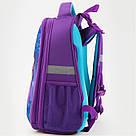 Рюкзак школьный каркасный Kite Education Wood fairy 20 л Фиолетовый K19-531M-2, фото 6