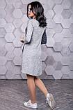 Платье спорт шик из трикотажа ангора с люрексом 3145, фото 2