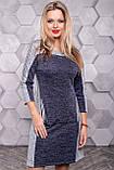 Платье спорт шик из трикотажа ангора с люрексом 3145, фото 3