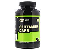 Глютамін Optimum Nutrition Glutamine 1000 (240 кап) (103259) Фірмовий товар!