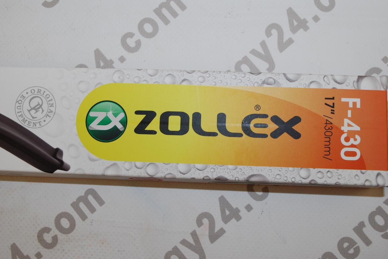 """Zollex F 430 Щетка бескаркасная Ultra Soft Line 17"""" (430мм)"""