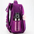 Рюкзак школьный каркасный Kite Education Princess 20 л Фиолетовый (K19-531M-1), фото 5