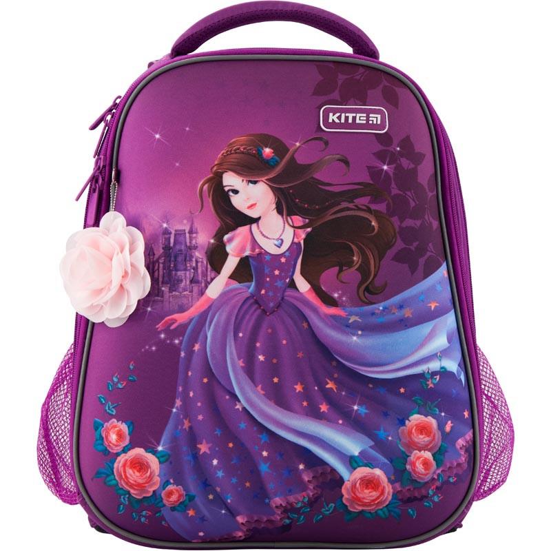 Рюкзак школьный каркасный Kite Education Princess 20 л Фиолетовый (K19-531M-1)