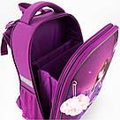 Рюкзак школьный каркасный Kite Education Princess 20 л Фиолетовый (K19-531M-1), фото 8