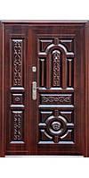 Дверь Нестандарт 150+ (медь антик/сота, 1200/70mm)