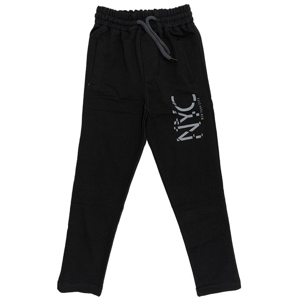 Спортивні штани для хлопчиків Poyraz kids 110 чорний 7144-1