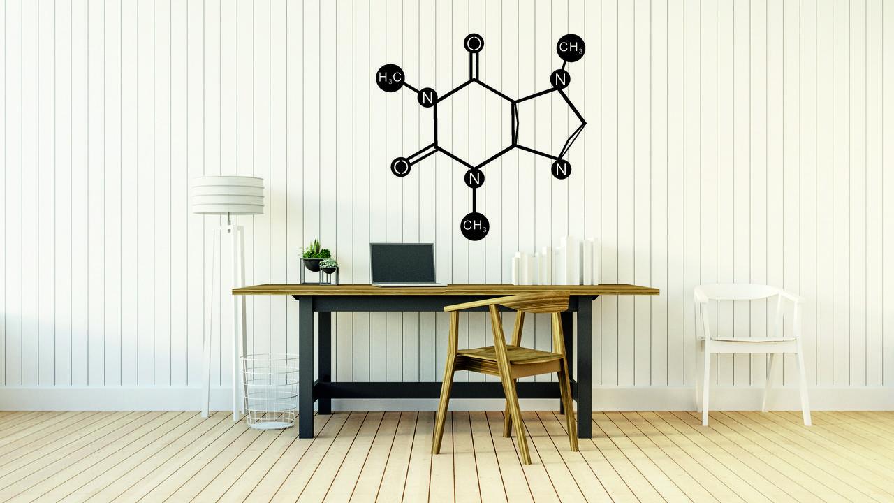 Деревянный декор на стену WHICH.BLACK COFFEE (75x74 см)