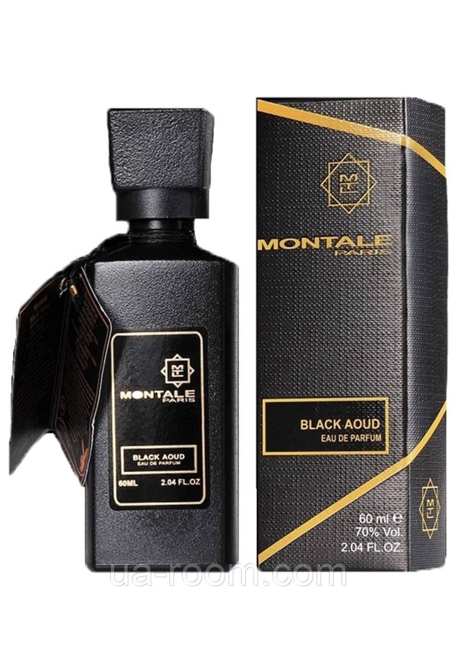 Мини-парфюм 60 мл. Montale Black Aoud