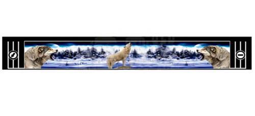 """Брызговик резиновый универсальный для грузовой прицепной техники с декоративным рисунком """"ВОЛКИ ВОЮТ""""(8678), фото 2"""
