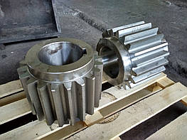 Изготовление шестерни механизма подъема стрипперного крана