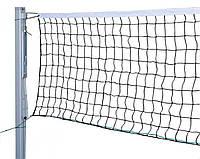 Сетка волейбольная Эконом- 15 с металлическим тросом ( 0,9*9м. ячейка-15см . диаметр - 2,5 мм белая,)