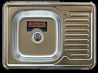 Кухонная мойка Platinum 7050 Decor 0,8мм