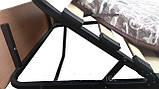 Раскладушка на ламелях с регулируемым подголовником Венеция-Люкс, фото 3