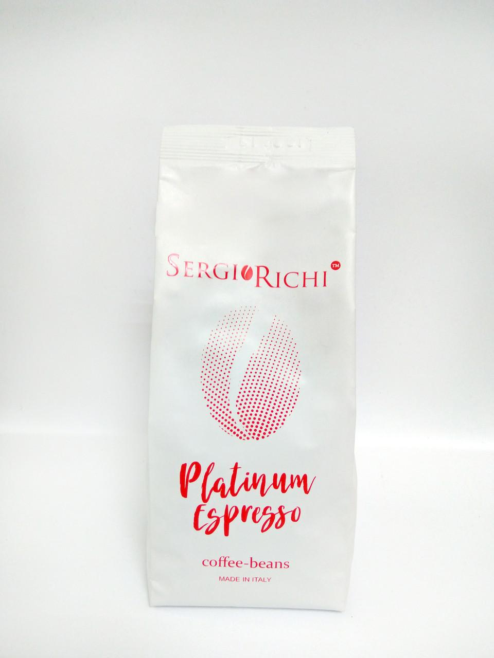 Кофе молотый Platinum Espresso Sergio Richi (250 гр.)