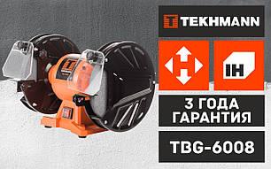 Станок точильный заточной (точило) Tekhmann TBG-6008, фото 2