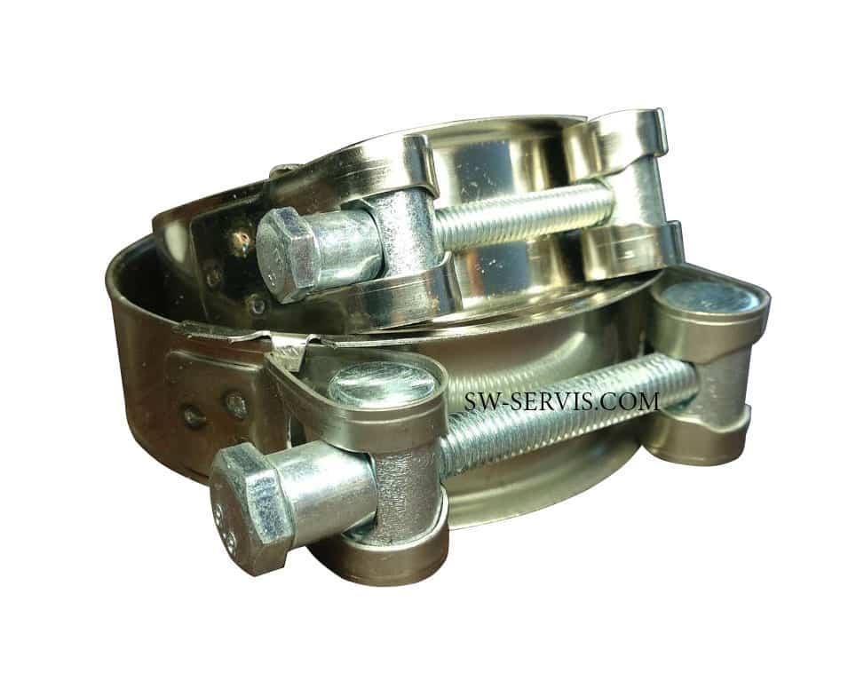 Хомут силовий з нержавіючої сталі 60-63 мм Apro w2