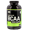 BCAA аминокислоты Optimum Nutrition BCAA 1000 (400 капс)