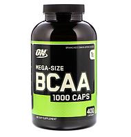 BCAA аминокислоты Optimum Nutrition BCAA 1000 (400 капс)