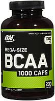 Амінокислоти BCAA Optimum Nutrition BCAA 1000 (200 кап) (103254) Фірмовий товар!