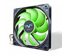 Вентилятор Frime (FGF120HB3) 120x120x25мм, 3Pin, Black/Green