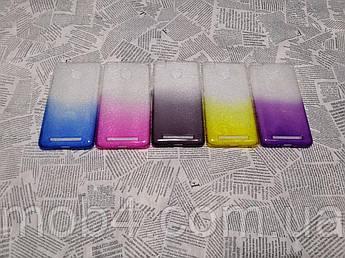 Чохол накладка на бампер Градієнт (Без блискіток) для Xiaomi Redmi 3S / 3Pro