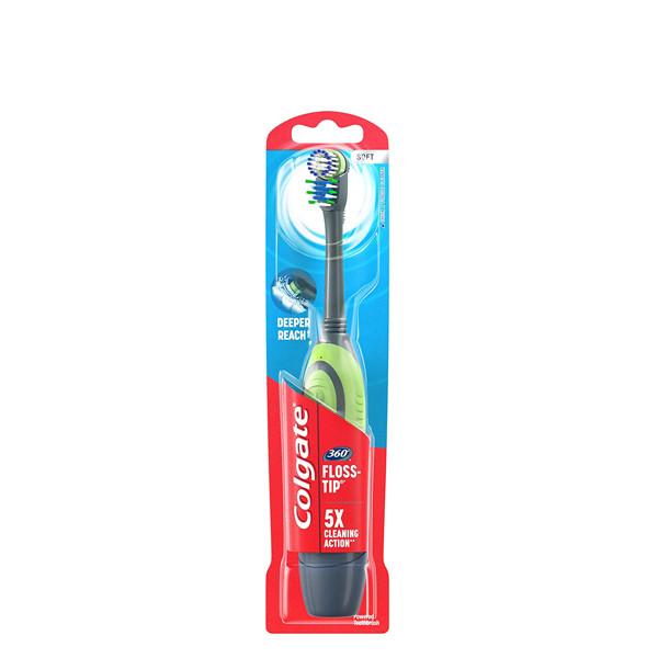 Зубная щетка Colgate Total Advanced Floss-Tip Soft на батарейках 400470