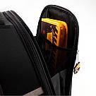 Рюкзак школьный каркасный ортопедический Kite Education Fc Barcelona Черный (BC19-531M), фото 9